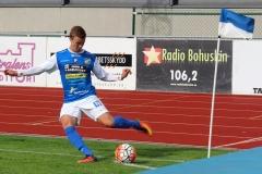 Emil Niklasson i matchen mot Landskrona på Rimnersvallen. FOTO: Susann Sannefjäll