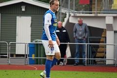 Marcus Haglind Sangré i matchen mot Östers IF på Rimnersvallen. FOTO: Susann Sannefjäll