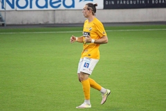 Marcus Haglind Sangré i bortamatchen mot Norrby på Borås Arena. FOTO: Susann Sannefjäll