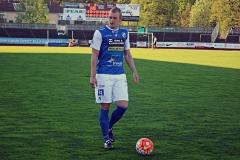 Robin Jansson i matchen mot FC Trollhättan. FOTO: Susann Sannefjäll