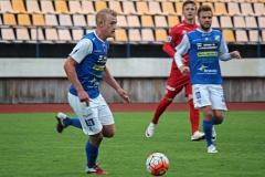 Robin Jansson i matchen mot Utsikten på Rimnersvallen. FOTO: Susann Sannefjäll