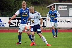 Robin Jansson i matchen mot Husqvarna på Rimnersvallen. FOTO: Susann Sannefjäll