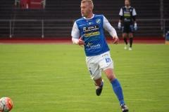 Robin Jansson i segermatchen mot Oskarshamn på Rimnersvallen. FOTO: Susann Sannefjäll