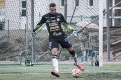 Sulejmen Sarajlić i matchen mot Sävedalens IF. FOTO: Tomas Sandström
