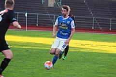 Tobias Mikaelsson i matchen mot FC Trollhättan. FOTO: Susann Sannefjäll