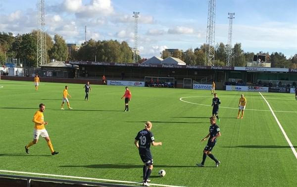 Förlust med 1-4 på bortaplan mot Utsikten. FOTO: Susann Sanefjäll