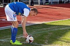 Andreas Bergman i matchen mot Kristianstad. FOTO: Susann Sannefjäll