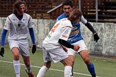 Mohammed Omar i U19-matchen mot Lunden/Överås. FOTO: Susann Sannefjäll