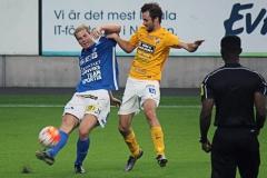Tobias Mikaelsson i bortamatchen mot Norrby på Borås Arena. FOTO: Susann Sannefjäll