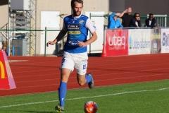 Tobias Mikaelsson i segermatchen mot Kristianstad på Rimnersvallen. FOTO: Susann Sannefjäll