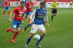 Tobias Mikaelsson i matchen mot Öster. FOTO: Susann Sannefjäll